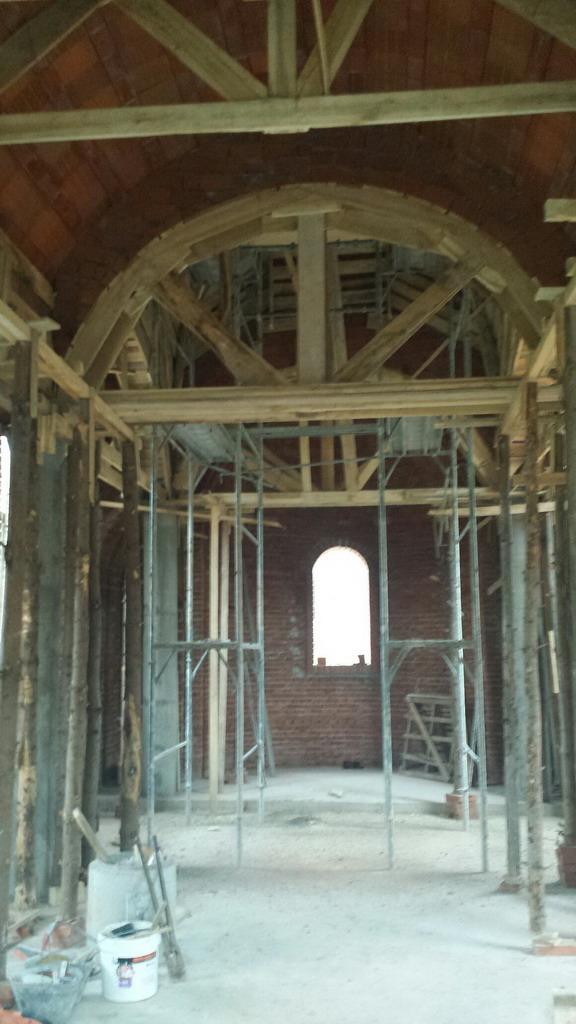 Изградња цркве - децембар 2014.године