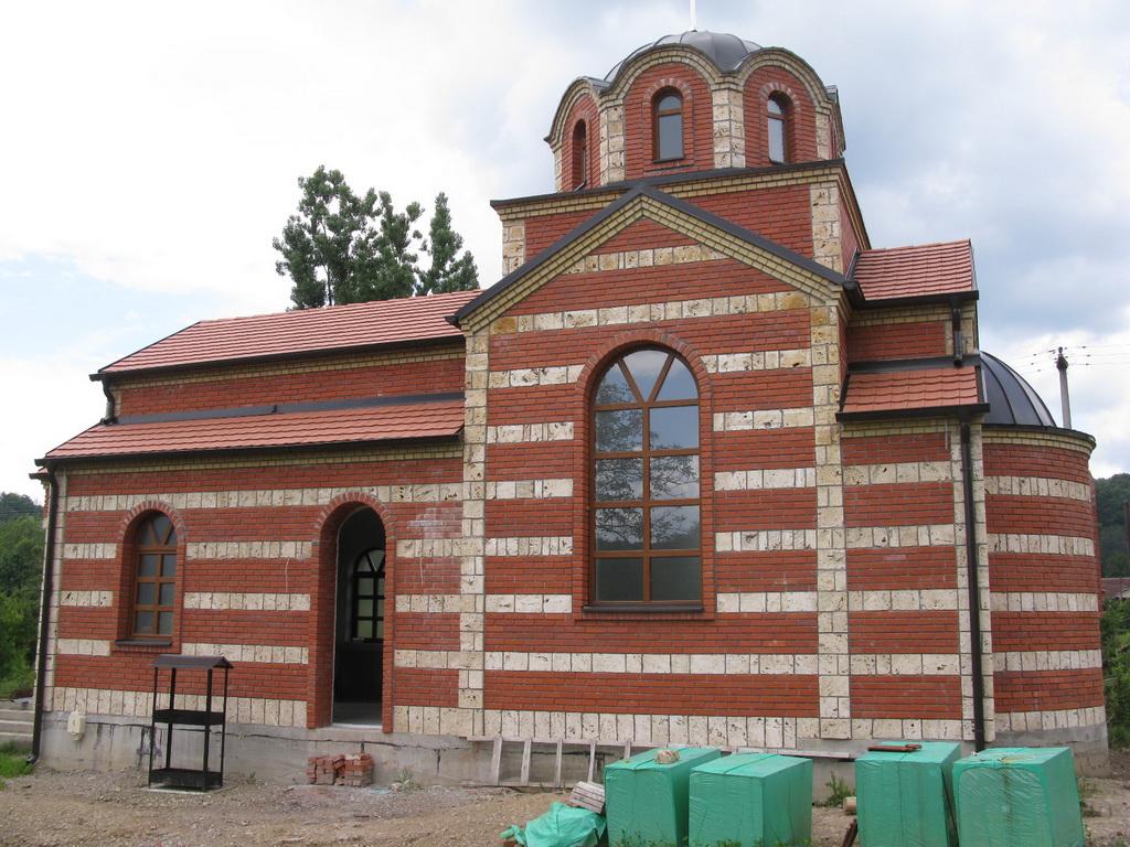 Изградња цркве - јул 2016.године