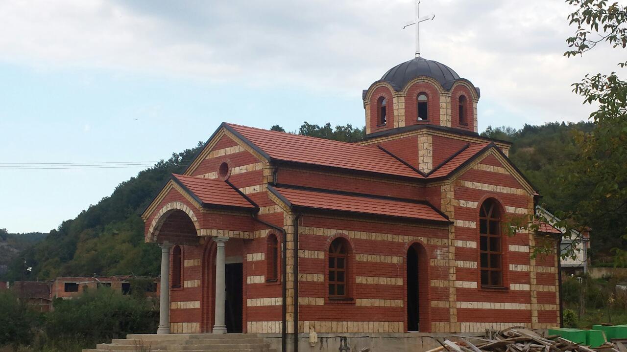 Изградња цркве - октобар 2015.године