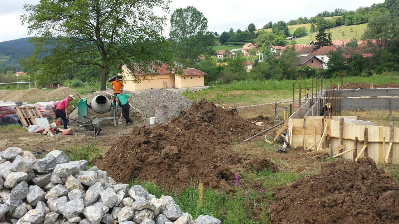 Почетак изградње цркве