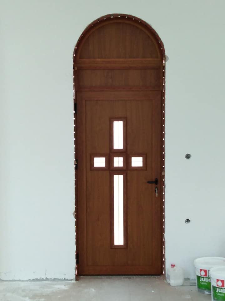 Изградња цркве - април 2019. године