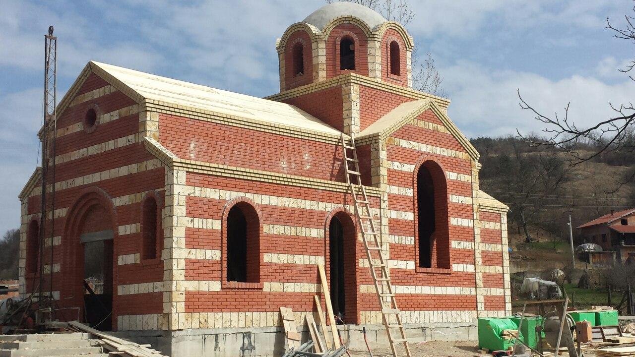 Изградња цркве - март 2015.године